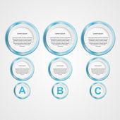 Modern infographic. tasarım öğeleri. vektör çizim. — Stok Vektör