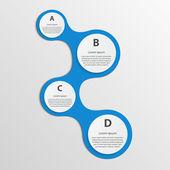 Modern infographic. tasarım öğeleri — Stok Vektör