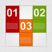Modern infographic. Design elements. — Stock Vector