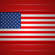 Background of American flag. Vector illustration. — Stock Vector #48156187