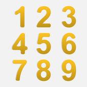 Ensemble de nombres de vecteur. — Vecteur