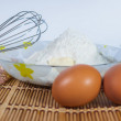 Stockfoto: Ingredients for baking