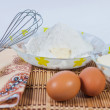 Ingredients for baking — Stock Photo