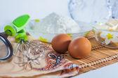 Ingredients for baking — Stock fotografie