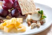 Assorted cheese — Foto de Stock