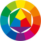 Color Wheel — Vettoriale Stock