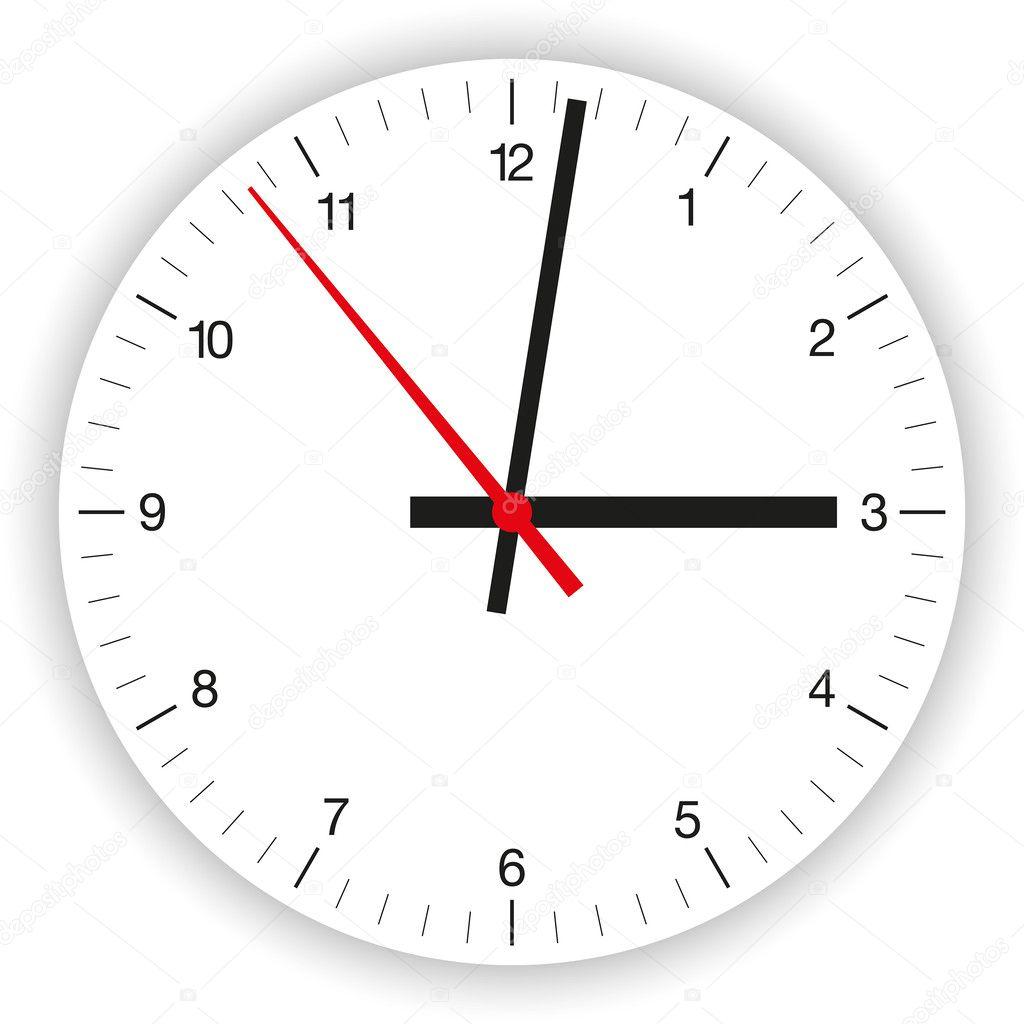 Модель циферблата часов для детей из бумаги своими руками 6