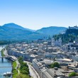 Salzburg City Panorama — Stock Photo