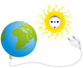 Solar Energy — Stock Vector