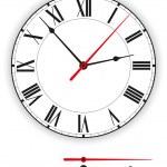 reloj antiguo — Vector de stock