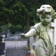 Stock Photo: Stone Statue Child