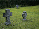 Granite Gravestones — Stock Photo