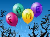 Ballonnen roem — Stockvector
