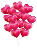 Balloons Hearts — Stock Vector