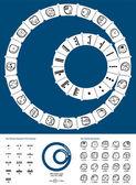 Tzolkin Maya Calendar — Stock Vector