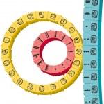 Maya Calendar 3D — Stock Vector #50976085