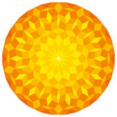 Sun from a Penrose Pattern — Stock Vector