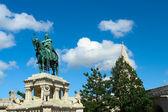 Святой Стефан был первым королем Венгрии, который превратил tr — Стоковое фото