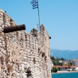 Outer Castle wall in Nafpaktos central Greece — Stockfoto #33323655