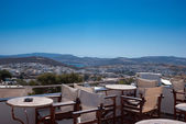 Panoramic view of Plaka village on Milos island, Greece — Stock fotografie