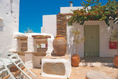 Tradycyjny grecki Dom na wyspie sifnos island, Grecja — Zdjęcie stockowe