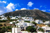 Traditional  village on Sifnos island, Greece — Stock Photo