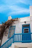 Stary tradycyjny grecki Dom na wyspie mykonos, Grecja — Zdjęcie stockowe