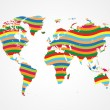 Global togetherness — Imagen vectorial