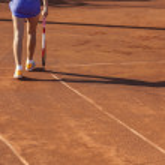 Постер, плакат: Tennis player