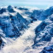 The Birth of a Glacier in Denali National Park, Alaska. — Stock Photo