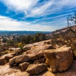 The Amazing Granite Stone Slabs and Boulders of Legendary Enchanted Rock, in the Texas Hill Country. — Stock Photo