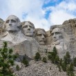 Famous Landmark and Mountain Sculpture - Mount Rushmore, South Dakota. Shot taken July 2009. — Stock Photo #27164853