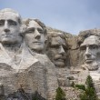 Famous Landmark and Mountain Sculpture - Mount Rushmore, South Dakota. Shot taken July 2009. — Stock Photo #27164855
