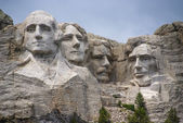 Famous Landmark and Mountain Sculpture - Mount Rushmore, South Dakota. Shot taken July 2009. — Stock Photo