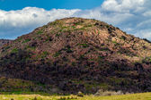 Interesting Shapes and Shadows on the Boulders of the Ancient Granite Domes of the Wichita Mountains in Oklahoma. — Stock Photo
