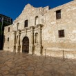 Interesting Perspective of the Historic Alamo, San Antonio, Texas.  Taken Dec. 2012. — Stock Photo