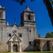 Stock Photo: Historic Old West Spanish Mission Concepcion, Established 1716, SAntonio, Texas.