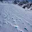 Stock Photo: Aerial View of Frozen River of Ice, or Glacier, in Great AlaskWilderness, Denali National Park, Alaska