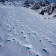 Aerial View of a Frozen River of Ice, or Glacier, in the Great Alaskan Wilderness, Denali National Park, Alaska — Stock Photo #31046789