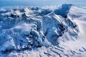 Aerial View of The Great Alaskan Wilderness, Denali National Park, Alaska. — Stock fotografie