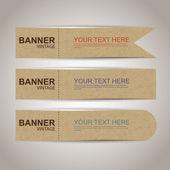 販売のバナー — ストックベクタ