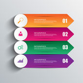 Infographics vector design template — Stock vektor