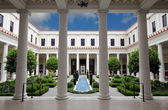 Getty Villa Inner Courtyard — Stock Photo