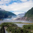 Стоковое фото: Mendenhall Glacier and Falls