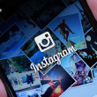 Instagram Login Page — Stock Photo