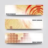Arka plan ile başlık sayfası şablonları — Stok Vektör