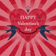 Happy Valentine Day Vector Illustration — Stock Vector #37150343