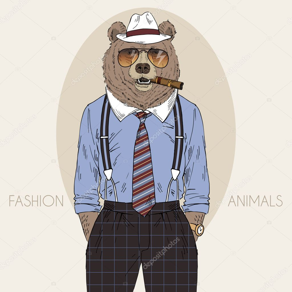 http://st.depositphotos.com/2466713/4303/v/950/depositphotos_43039551-stock-illustration-bear-in-fedora-hat-with.jpg