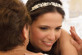 Bride with her mother — Stock Photo
