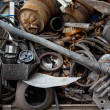 Scrap metal, old car parts — Stock Photo #30610677